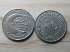 Singapore Coins Coin Variants