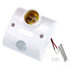 Latest E27 Infrared Motion PIR Sensor Automatic LED Light Lamp Holder Switch
