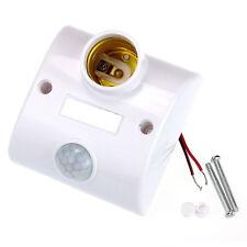 Último E27 INFRARROJOS MOVIMIENTO PIR Sensor Automático Luz Led Portalámparas