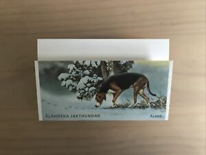 Aland 2015 Dogs Hunting Shooting  New Stamp Booklet MNH (xx588)