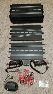 Carrera Evolution Exclusiv 1/24 1/32 Slot Car Track Lot x13 Straights & More