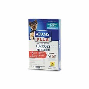 Adams Dog & Puppy Small 5-14 Lbs 3 Month Flea Tick Eggs Larvae Nymphs Spot On