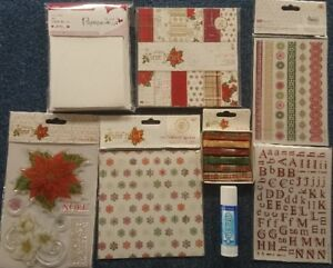 DOCRAFTS PAPERMANIA FIRST NOEL CHRISTMAS COLLECTION CARD KIT STAMPS PAPER MORE