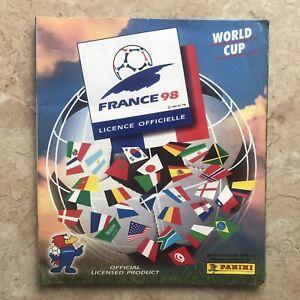 Panini 1998 France World Cup 100% Original/Complete Album Ex+ Cond.