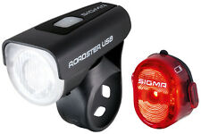 Fahrrad 25 Lux Sigma USB Lampenset Beleuchtung für KTM GIANT Stevens u.a.