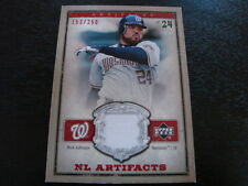 2006 Upper Deck Artifacts Nick Johnson Jersey Card (B101) Nationals #153 of #250