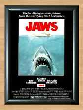 Jaws Movie Score Shark Attack Richard Dreyfuss Roy Scheider A4 Print Poster