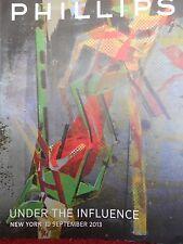 Phillips de Pury Under the Influence 19 Sep 2013 auction catalogue lots 1-265