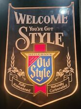 New listing Heileman's Old Style Lighted Bar Sign
