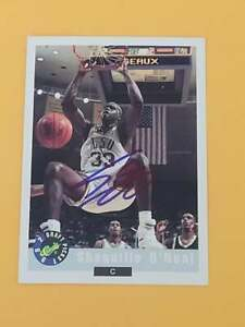 SHAQUILLE O'NEAL 1992 CLASSIC DRAFT ROOKIE Autographed card TTM /IP signature