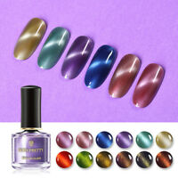 BORN PRETTY 6ml Star Cat Eyes Nail Polish Colorful 3D Magnetic Nail Art Varnish