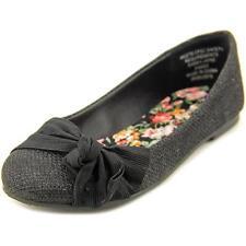 Chaussures décontractées noirs en toile pour fille de 2 à 16 ans