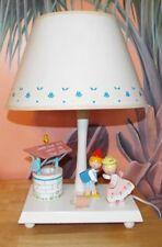 Vintage Jack & Jill Wooden Table Lamp, Underwriters Laboratories 1976. Works!