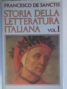 Storia della letteratura italiana 1De Sanctis francescoeuroclub rilegato 810