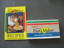 Popeil P400 Automatic Pasta Maker Replacement Recipes & Instructions +VHS  New