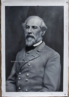 "Fine art Portrait of Confederate General Robert E. Lee oil on canvas 24""x36"""