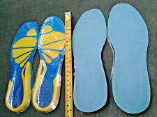 2-pairs Women's Silicone Insoles Pads Cushions Foot Care Shoes Heel Arch Support