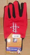 NEW NBA Houston Rockets Utility Gloves Workwear Women Men OSFM NEW NWT