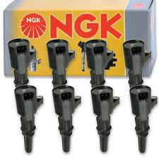 8 pcs NGK Ignition Coil for 1999-2004 Ford F-250 Super Duty 5.4L V8 - Spark mx