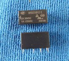 10PCS ORIGINAL 12VDC JRC-27F/012-S HFD27/012-S HFD27-012-S Relay 8Pins