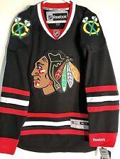Reebok Premier NHL Jersey Chicago Blackhawks Team Black sz XL