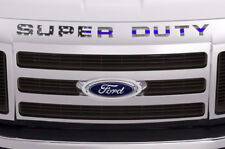 Super Duty Inserts Stickers Decals For Ford F250 F350 F450 2008-2016 BLUE LINE