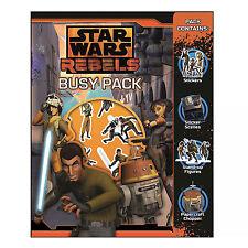 Pour enfants activité BUSY PACK Disney Star Wars petit cadeau Noël