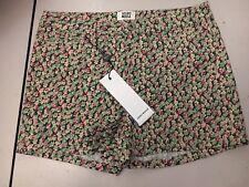 BNWOT Vero Moda Floral Print Festival Wonder Luella Pink Green Shorts Size 8