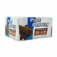 PURE PROTEIN BAR Chocolate Deluxe 1.76 oz/6 Bars