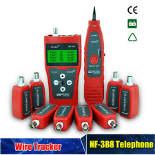 Multi-functional NF-388 Network Cable Tester Tracker Tracer Test Ethernet DC9.0V