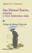 San Manuel Bueno m�rtir y tres historias m�s-ExLibrary