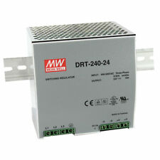 DRT-240-24 -MEAN WELL THREE PHASE INDUSTRIAL DIN RAIL POWER SUPPLY, 240W, 24V