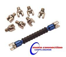Rfx habló clave Multi Punta Tipo Tamaños 5.4mm-7.0 mm Azul Para Motocross Enduro Motos