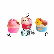 Hello Kitty Ice Cream Cup Squishy-2015