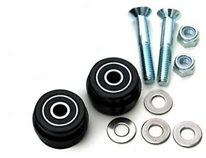 T.M. Designworks Replacement Rollers - Dual Rollers ZDR-002-BK