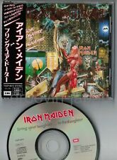 """IRON MAIDEN Bring Your Daughter JAPAN 3-track 5"""" CD TOCP-6572 w/OBI+P/S BOOKLET"""