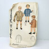 Simplicity SEWING PATTERN Childs Sz 4 Vintage 2 Lengths