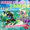 Pokemon Sword/Shield Shiny Celebi and Zarude ✨OUT NOW✨POKEMON Movie: COCO