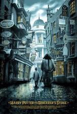 Harry potter reg alt movie poster kevin wilson ape meets girl no./350 nt mondo
