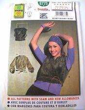 Uncut Burda 8775 Young Fashion Blouse sizes 6-16