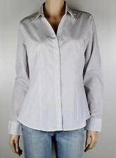Career Polka Dot 100% Cotton Long Sleeve Tops for Women