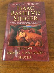 Three Complete Novels - Isaac Bashevis Singer (Hardcover, 1978, Dust Jacket)