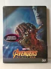 Avengers Infinity War Marvel Steelbook 2D/3D zone 2 VF neuf