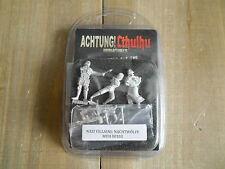 ACHTUNG! CTHULHU - Antagonistas Nazis: Nachtwölfe - rol - miniaturas 28 mm. WWII
