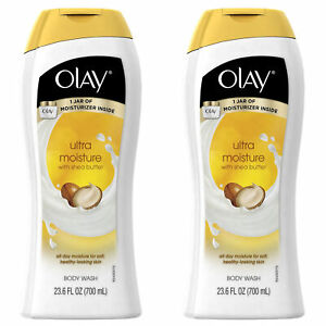 2-Pack Olay  Body Wash w/ Vitamins Extra Dry Skin w/ Shea Butter Deep Moisture