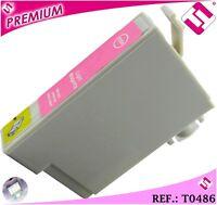 TINTA MAGENTA CLARA T0486 COMPATIBLE NONOEM IMPRESORAS EPSON CARTUCHO CLARO XL
