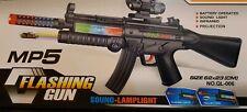 Nuevo Ejército Militar Rifle de asalto armas/MP5 Láser Luces de proyección de sonido Niños Juguete