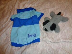 Martha Stewart Dog Polo Shirt Size Medium w/toy