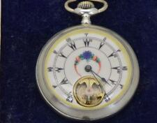 WOW! One of a kind antique 8 Days Prototype Ottoman silver watch  c1890'a