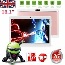 "10.1"" Inch Android 6.0 Lollipop Quad Core Wifi Tablet PC 128GB Dual SIM Card UK"